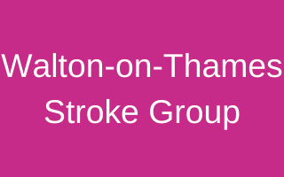Walton-on-Thames Stroke Group